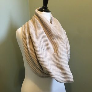 Cream Sweater Infinity Scarf By Free State